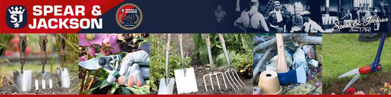 Spear&Jackson(スピア&ジャクソン)はグリーンフィンガー御用達の英国ガーデンツールです。