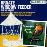 英国ガードマン オーネイト 窓ガラス用吸盤付ウィンドウフィーダー